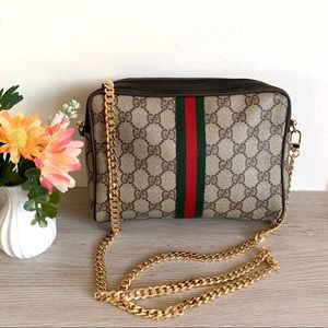Vintage authentic Gucci clutch crossbody ❤️